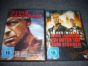 DVD-Stirb-Langsam-1-5-1-2-3-4-5-Quadrologie-5-deutsch-Bruce-Willis