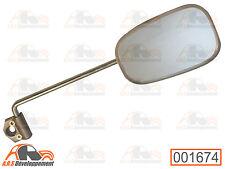RETROVISEUR DROIT NEUF gris métalisé Citroen 2CV AK 250 350 400 ACADIANE  -1674-