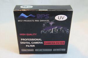 55MM BPS UV Filter - Brand New & Sealed