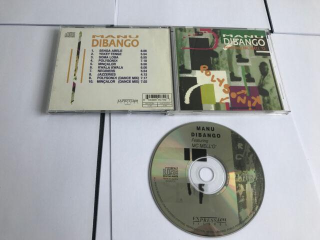 Manu Dibango - Polysonik (1997) CD 604388407927