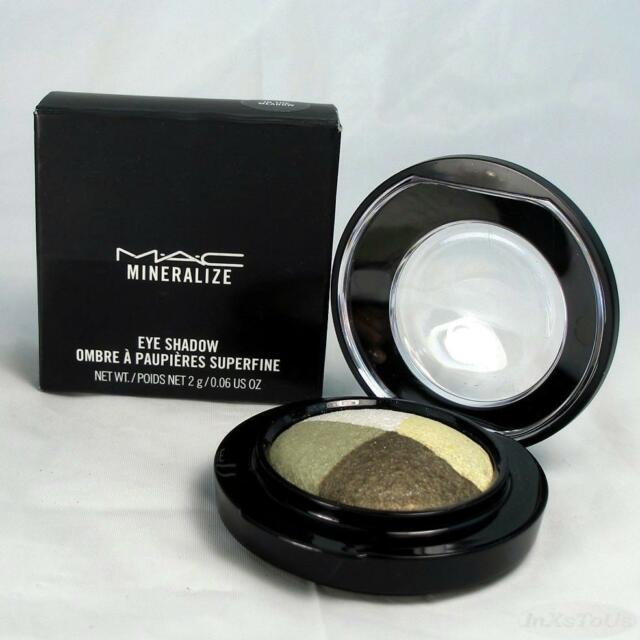 MAC Mineralize Eye Shadow In The Meadow Boxed (New Pkg)