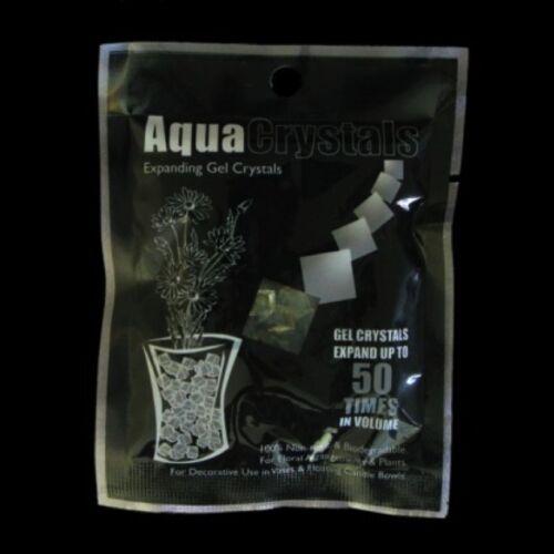 Aqua Crystals 10g Salco uo to 50x Volume coloured Expanding Gel Crystals