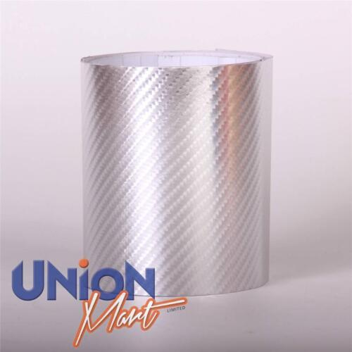 """CHROME VINYL BIKE HELICOPTER TAPE 4D BRUSHED AND MIRROR FINISH  /""""BUBBLE FREE/"""""""