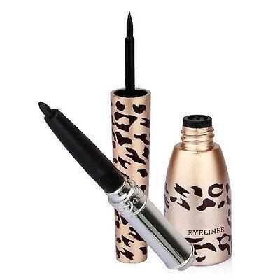 Leopard Waterproof Liquid Eye Liner Eyeliner Pen Makeup Cosmetic Black