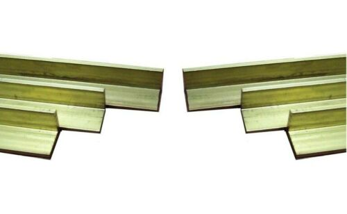 Solid Brass equal angle Extruded 12.7-50.8mm Diametre 375mm Length.