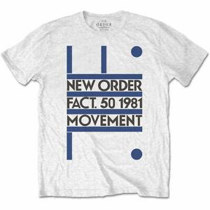 New Order: 'Movement' T-Shirt *Factory / Joy Division* *Official Merch!*