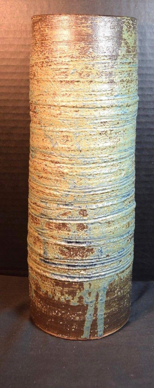 Artist Signed Modern Japanese Art Pottery Vase