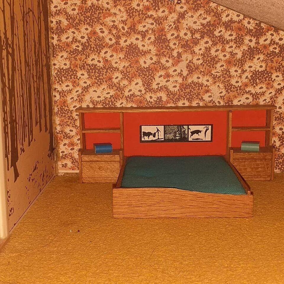 Dukkehus-møbler, Seng komfur
