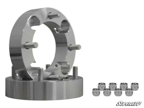 """SuperATV 1.5/"""" Wheel Spacers for Honda Pioneer 4//110-1 Pair"""