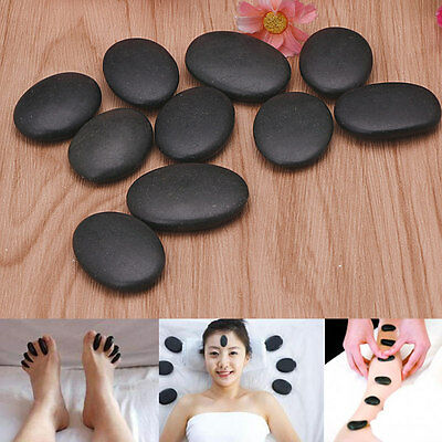 7PCS / Lot Hot Spa Rock Basalt Stone Beauty Stones Massage Lava Natural Stone