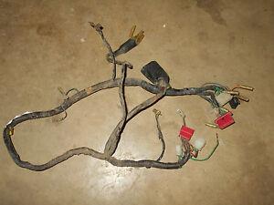 honda cm400 cm400a automatic main wiring wire harness loom wires 1980 400  1981 | eBay | Cm400 Wiring Harness |  | eBay