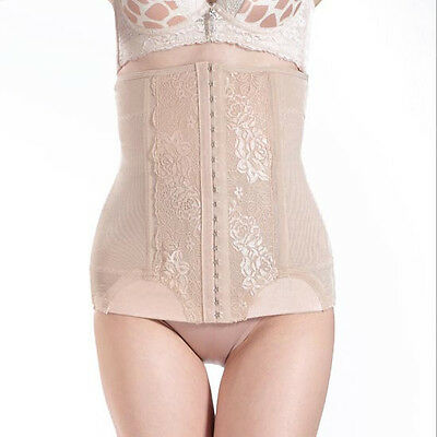Womens Shapewear Slim Tummy Control Waist Cincher Belt Girdle Body Shaper Corset