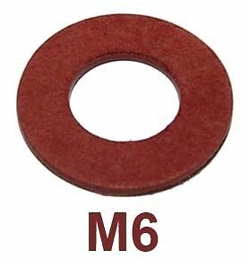 M6. 6mm ID x 10mm OD x 1mm Copper Sealing Washers 6x10x1 Choose Quantity