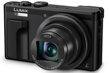 Panasonic Lumix DMC-TZ80 Digital Compact Camera With Viewfinder: Black