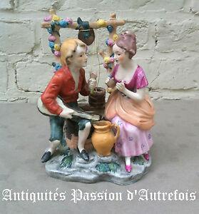 B2016313-Groupe-en-biscuit-de-porcelaine-1950-70