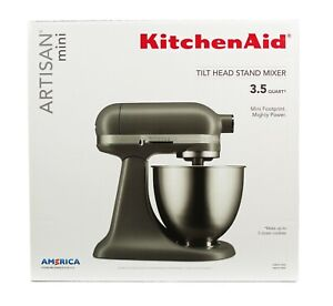KitchenAid-Artisan-Mini-3-5-Quart-Tilt-Head-Stand-Mixer-Matte-Gray