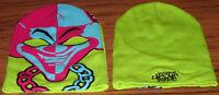 Insane Clown Posse Ski Mask Green Hat Authentic Licensed Icp