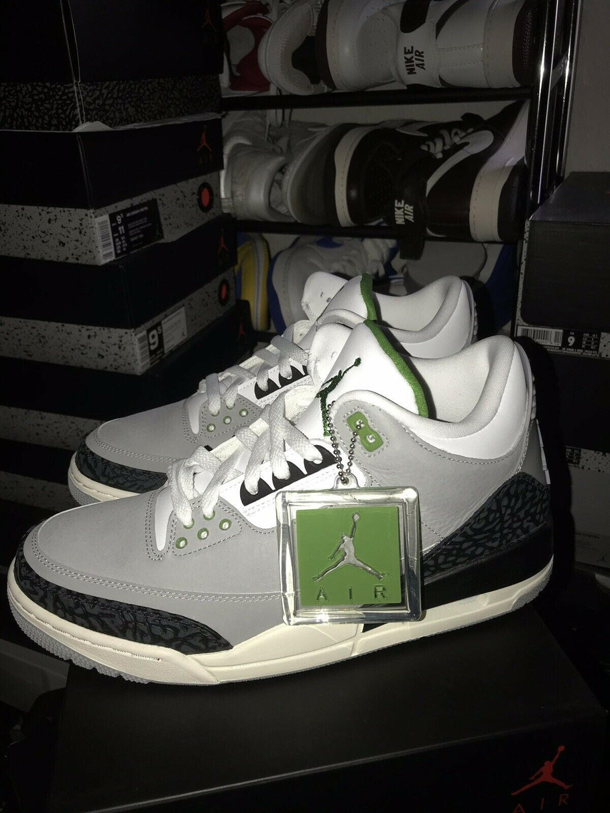 Nike Air Jordan 3 Retro Chlorophyll MJ