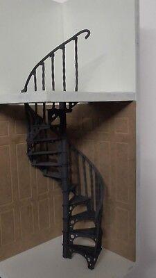 Avere Una Mente Inquisitrice Casa Delle Bambole Fai Da Te Scala A Chiocciola Kit In Metallo-mostra Il Titolo Originale Ultimi Design Diversificati