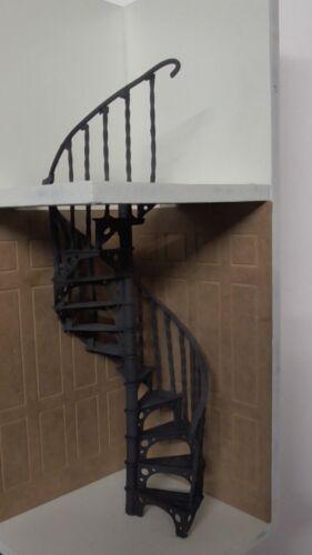 DOLLS HOUSE DIY  METAL SPIRAL STAIRCASE KIT