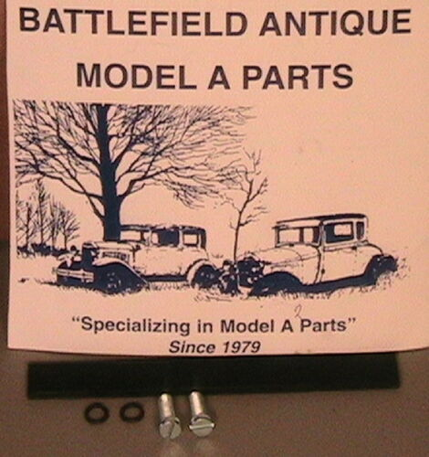 1928 1929 1930 1931 Model A Ford Lower Steering Column Screws and Anti-Rattler.