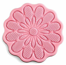 Flower 12 Petal Large Round Silicone Impression Mold