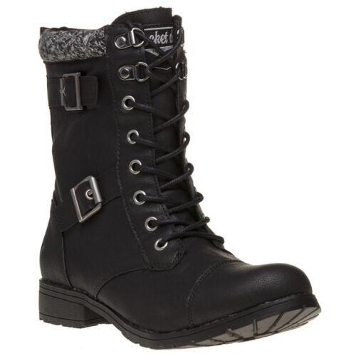 Dog Boots New Nero Rocket Womens Caviglia Up Billie Pu Lace v1YYaErwq