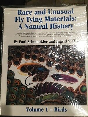 RARE AND UNUSUAL FLY TYING MATERIALS VOLUME 1 - PAUL SCHMOOKLER & INGRID SILS