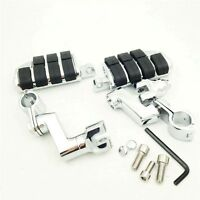 Front Rider Clamps Large Foot Pegs For Honda Shadow Ace Vtx Magna Valkyrie 1