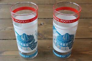 Vintage Pro Football Hall of Fame Glasses