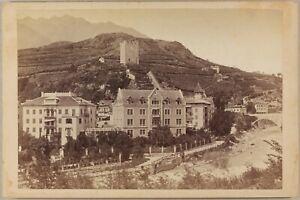 Italia-Ville-A-Identificare-Foto-Peter-Moosbrugger-Merano-Nice-Vintage-Albumina