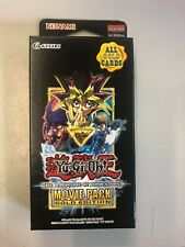 Yu-Gi-Oh The Dark Side Of Dimensions Movie Pack Gold Edition allemand NOUVEAU /& NEUF dans sa boîte