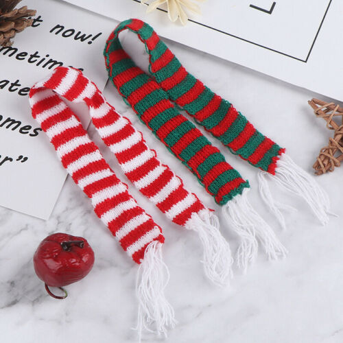 1:6 1:12 Dollhouse Miniature Christmas Scarf Dollhouse Accessories Xmas Gift