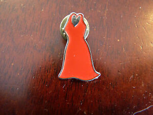 Collectible-Enamel-Pin-Cute-amp-Sexy-Red-Dress
