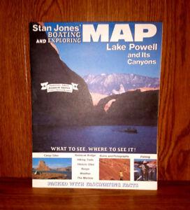 Stan Jones Boating & Exploring MAP Lake Powell & its ...