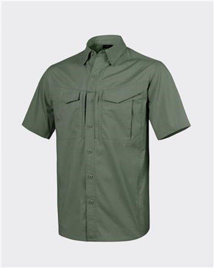 Helikon Tex DEFENDER Mk2 Shirt short sleeve Outdoor Freizeit Hemd oliv XXL