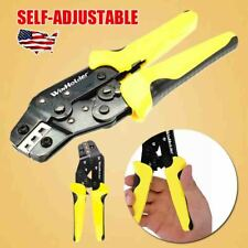 Self Adjusting Insulation Wire Stripper Cutter Crimper Cable Stripping Home Tool