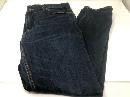 Old Taille Slim Jeans Navy Fn13 33x30 Mens Fit prPqFUpw