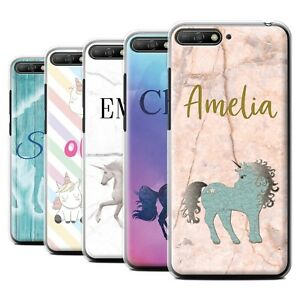 brand new 94902 a36b5 Details about Personalised Custom Handwritten Fantasy Unicorn Phone Case  for Huawei Y6 (2018)