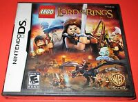 Lego The Lord Of The Rings Nintendo Ds-dsi-lite-xl-3ds Factory Sealed Free Ship
