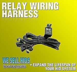 Details about HID Wiring Harness dual H7 H1 H3 fused Relay Loom Car on