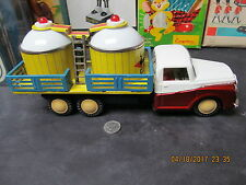 """OIL AND CHEMICAL FRICTION TRUCK MF 189 MADE IN CHINA 1960 WORKS EXCELLENT 11"""""""