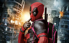 """20x30"""" DEADPOOL MARVEL COMIC LARGE CANVAS READY TO HANG"""