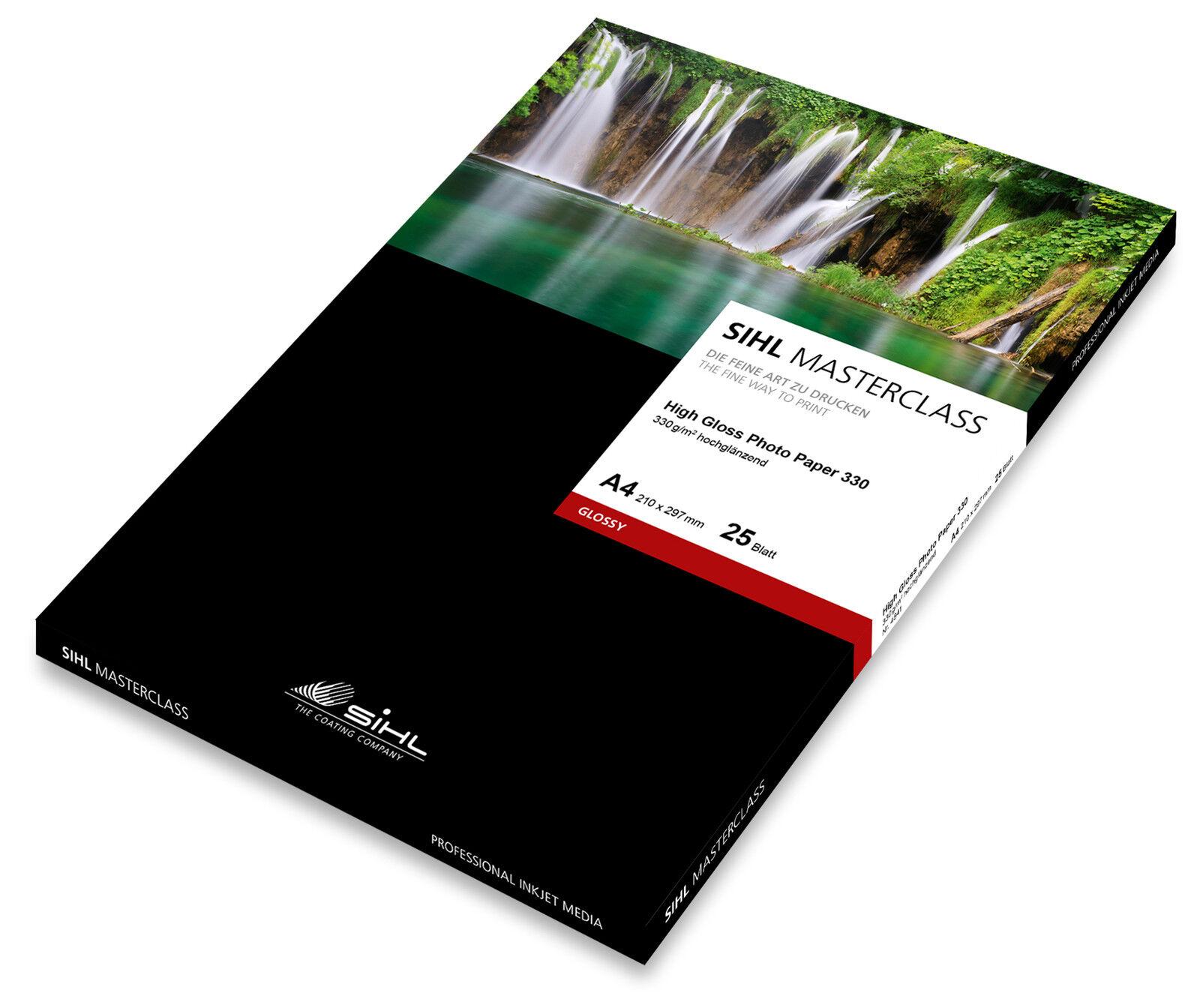 DIN A3+ Masterclass Masterclass Masterclass High Gloss Photo Paper Fotopapier 330g grandiose Qualität   Maßstab ist der Grundstein, Qualität ist Säulenbalken, Preis ist Leiter    Deutschland Frankfurt  e38f44
