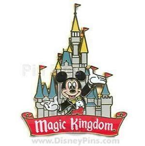 Formal Mickey 1 Hand Arm Up Red Magic Kingdom Banner Castle Logo Wdw