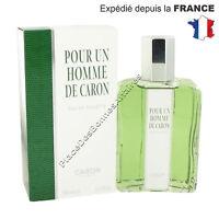 Parfum Homme Pour Un Homme De Caron Eau De Toilette 500ml Neuf