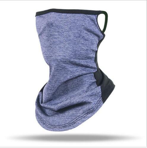 Details about  /Balaclava Neck Tube Scarf Bandana Head Face Cover Neck Gaiter Ear Loops Headwear