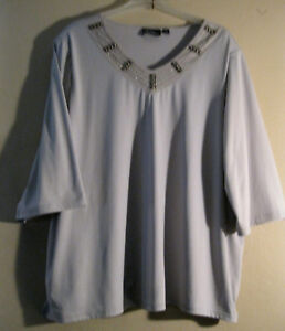 Catherines 4x 3032 Plus Size Blouse Added Dimension New Outstanding