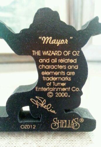 2000 Wizard of Oz Shelia/'s Collectibles OZO 12 Mayor