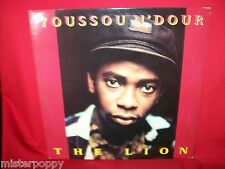 YOUSSOU N'DOUR The Lion  LP 1989 ITALY  MINT- Inner